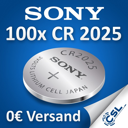 Original-Sony-CR2025-Knopfzelle-3V-Lithium-CR-2025-lose-Industriezelle