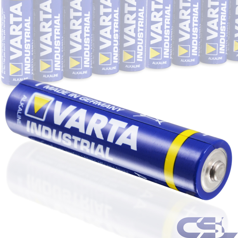 20-Stk-Varta-AAA-Micro-Batterie-LR03-1-5V-1200mAh-Alkaline-Industrial-Quality